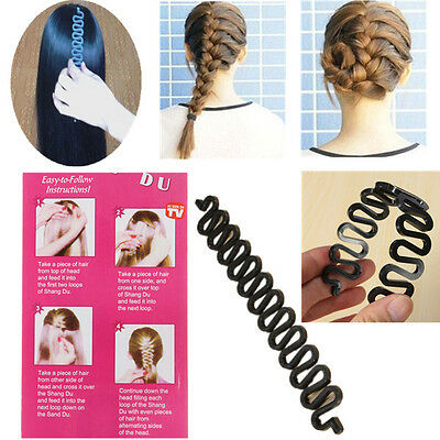 Ehrgeizig French Hair Braiding Tool| Roller| With Magic Hair Twist Styling Bun Maker HeißEr Verkauf 50-70% Rabatt