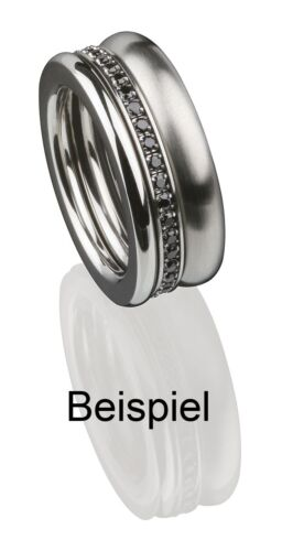 Serio Design edvita vorsteckring estrecho ring 1.5mm ondulado beisteckring r286