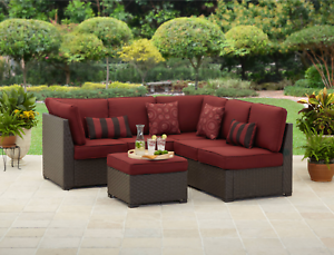 Image Is Loading Patio Furniture Sets Clearance 3 Piece Outdoor Woven