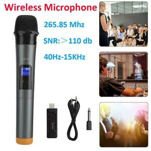 UHF-Wireless-Microphone-Handheld-Mic-For-Karaoke-KTV-Studio-Recording-Speech