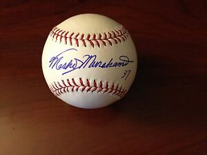 Masanori-Murakami-Autographed-Official-Bud-Selig-MLB-Baseball