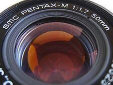 SMC Pentax-M f1.7 1:1.7 50mm ME Super Program Plus K1000 K10D K20D K5 K7 K/X