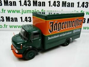 CA3A-CAMIONS-LKW-1-43-DeAgostini-IXO-MERCEDES-BENZ-L1113-Boisson-Jagermeister