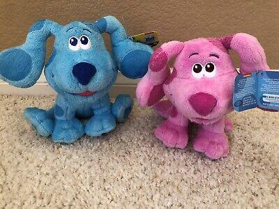 "MAGENTA & BLUE Blues Clues & You 7"" Plush Stuffed Animal ..."