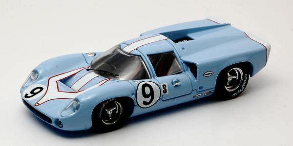 Lola t 70 Coupe'  9 dnf 12 h Sebring 1968 patrick Jordan 1 43 Model