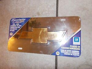 Pilot Chevrolet Chrome 3D Plate LP-011B