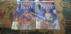 Star Wars: Vader's Quest 1-4, Dark Horse Comics 1999, complete