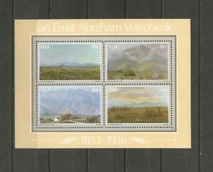 SOUTH-AFRICA-1978-The-125th-Birth-Anniv-of-J-E-A-Volschenk-MUH-MINI-SHEET