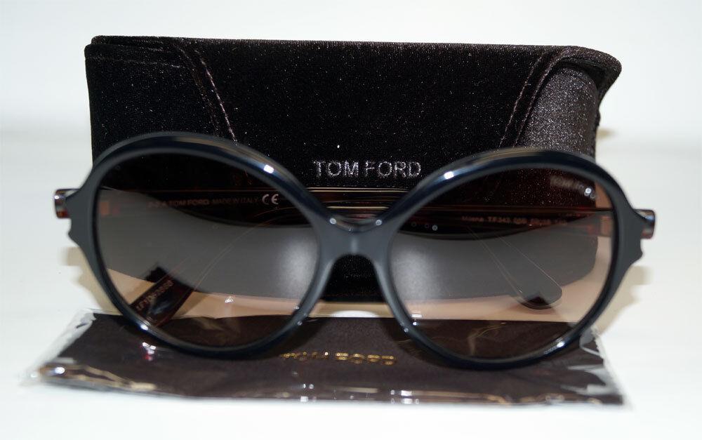 TOM TOM TOM FORD Sonnenbrille Sunglasses FT 0343 05B   | Attraktives Aussehen  | Nutzen Sie Materialien voll aus  | Moderater Preis  995478