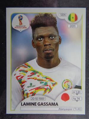 Senegal Cheikhou Kouyaté Panini WM 2018 World Cup Russia Sticker 622