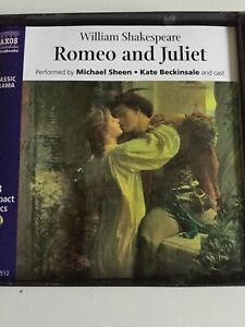 audio-books-3-CDS-Romeo-And-Juliet-Performed-By-Michael-Sheen-Kate-Beckinsale-A