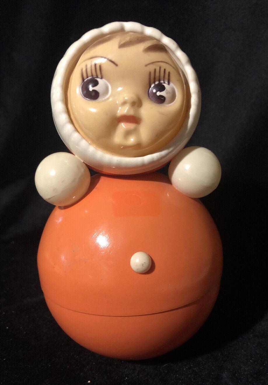 "Russian tumbler doll Roly Poly wooden blank /""Nevalyashka-Matryoshka,/"" musical."