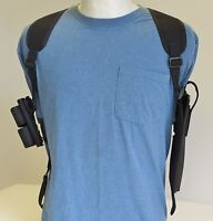 Shoulder Holster For Taurus 608 -627 6 1/2 Barrel With Dbl Speedloader Pouch
