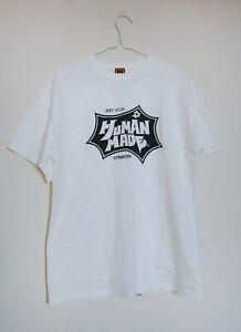 Human-Made-White-Tee-Nigo-T-Shirt-Size-L