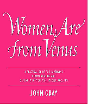 """""""AS NEW"""" Gray, John, Women Are from Venus: Understanding the woman in your life"""