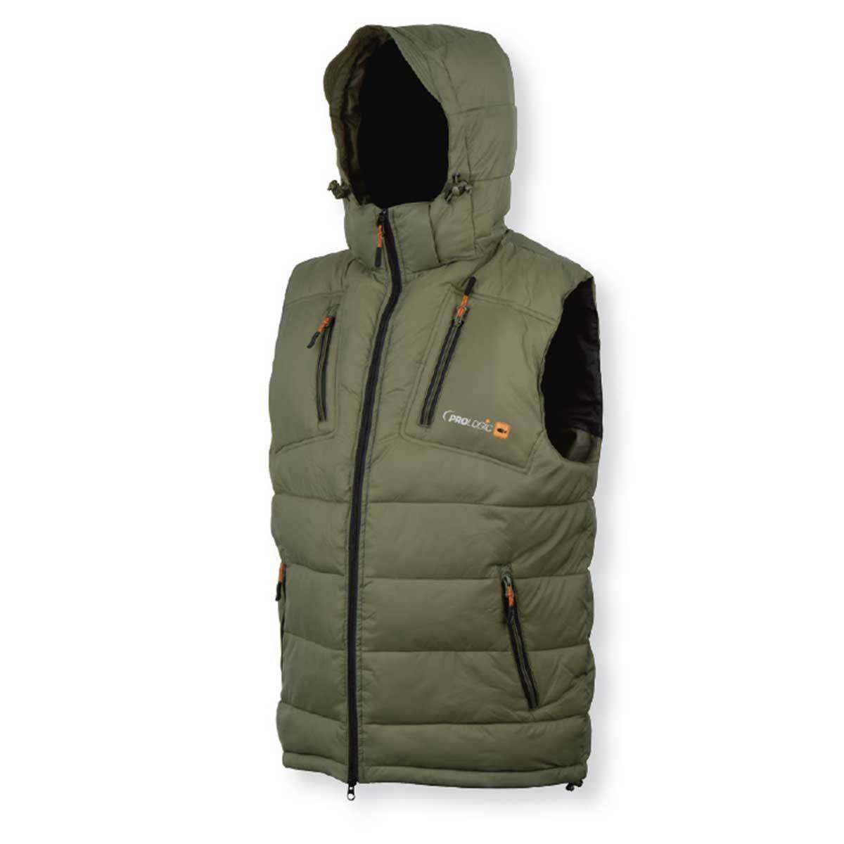 PROLOGIC GREEN THERMO CARP FISHING BODY WARMER SUPER WARM