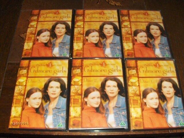 GILMORE GIRLS, HELE FØRSTE SÆSON PÅ DVD, 6 DVDere