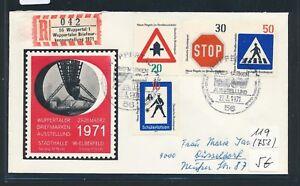 10606) Spécial R-mot Wuppertal W. Bm-exposition 1971, Sou Sst 27.3.71-ng 1971, Sou Sst 27.3.71fr-fr Afficher Le Titre D'origine