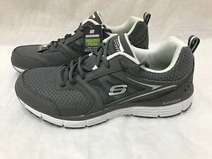 New!! SN 50046H Skechers Sport Men's Agility Outfield Oxford Gray F44