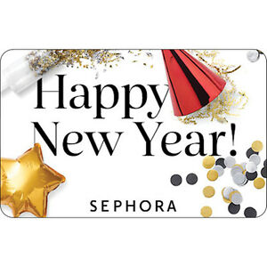 image is loading sephora gift card happy new year 25 50
