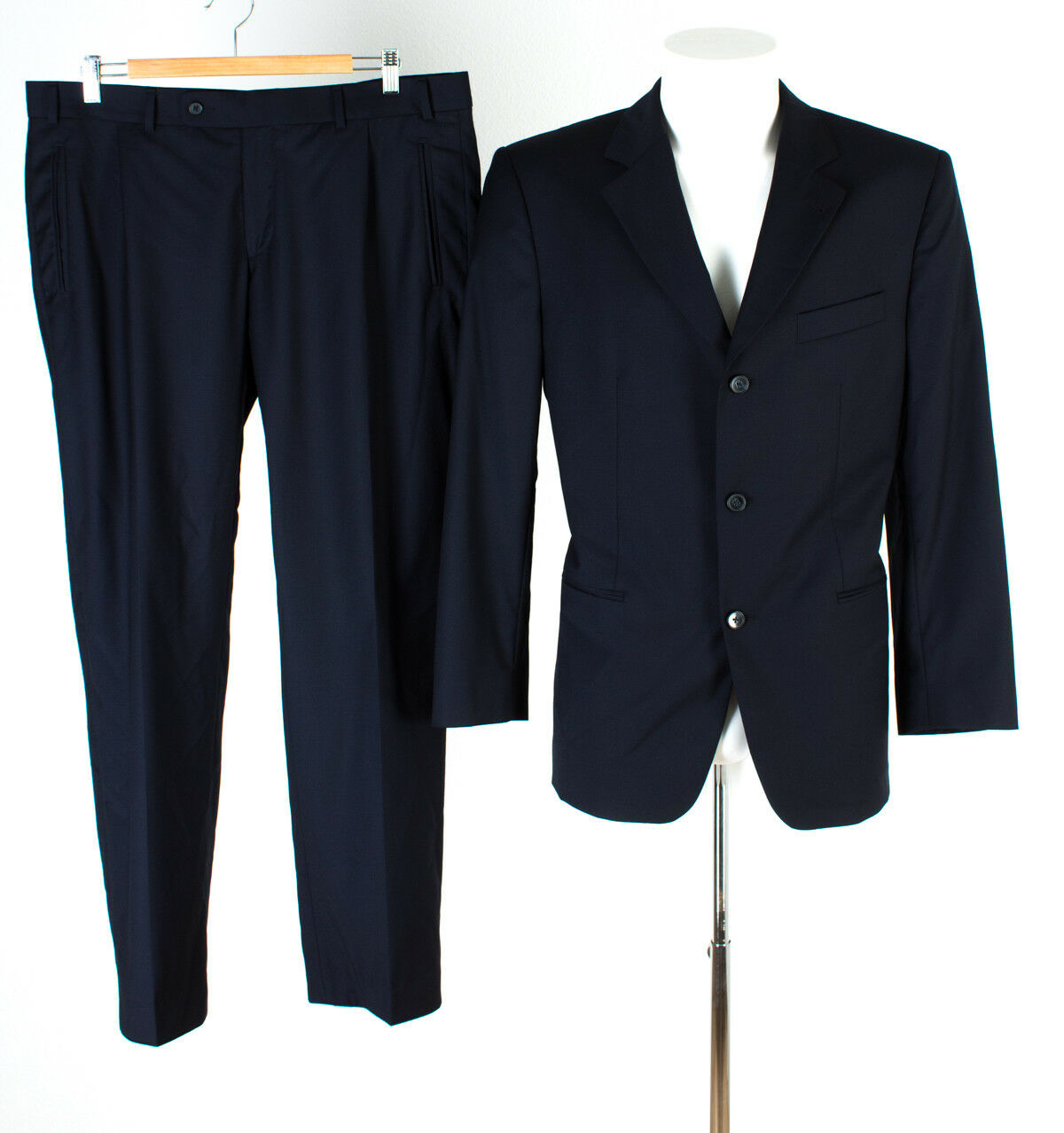MAILE by Lgold Piana Anzug Gr. 26 Wolle Sakko Hose Business Suit