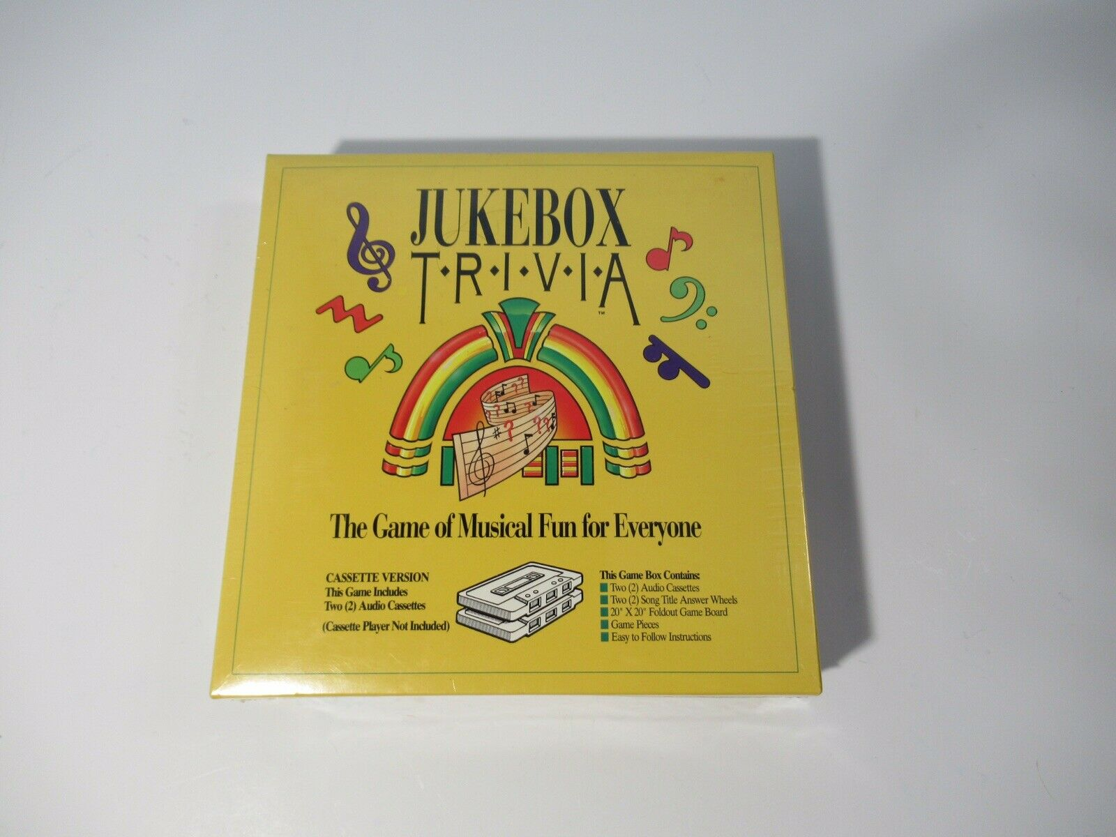 JUKEBOX JUKEBOX JUKEBOX TRIVIA GAME CASSETTE VERSION NEW SEALED FAST SHIPPING a80147