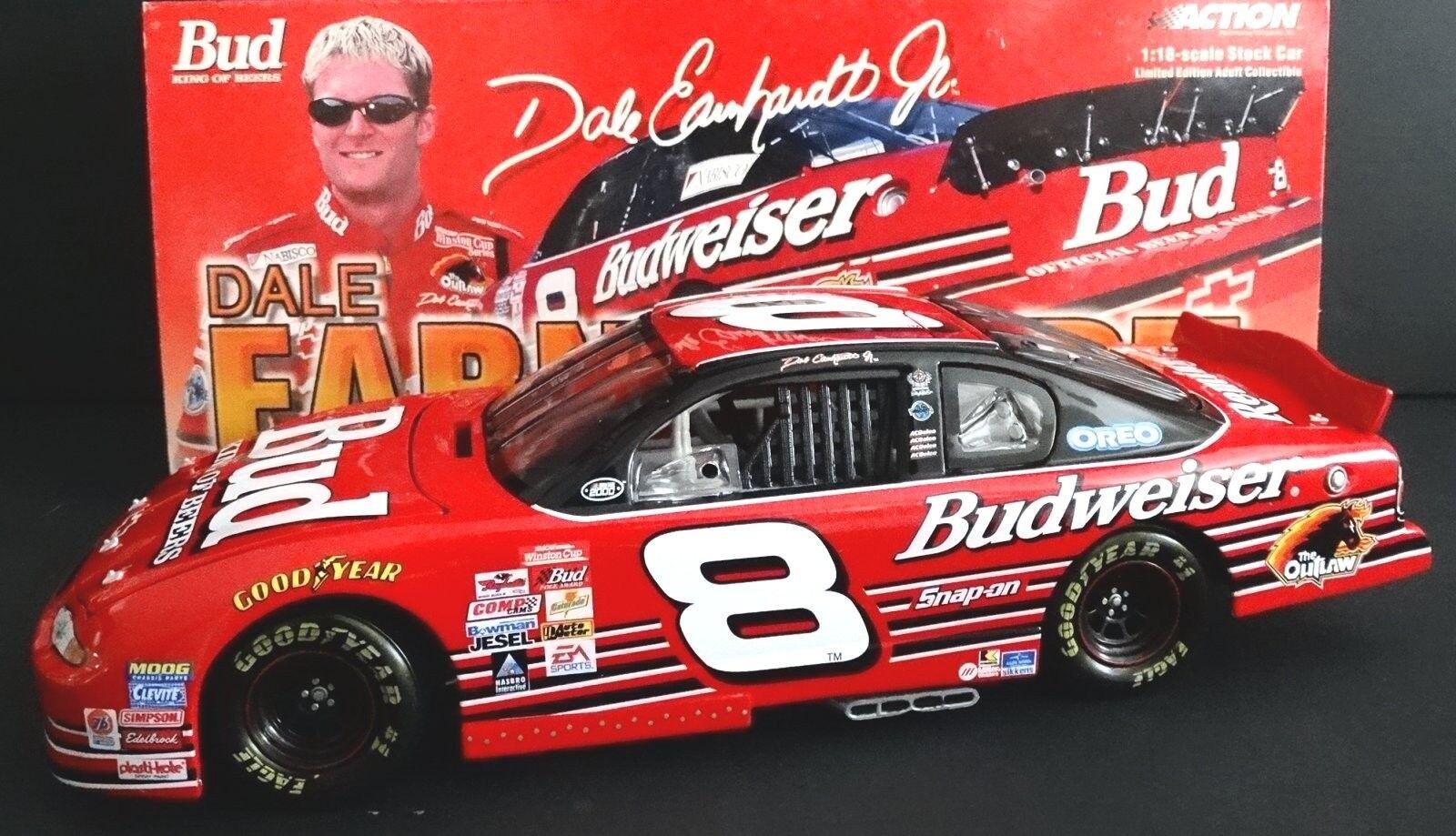marca de lujo Dale Earnhardt Jr  8 8 8 Budweiser 1 18 acción novato 2000 Chevy 1 3504 McDonald  Venta al por mayor barato y de alta calidad.