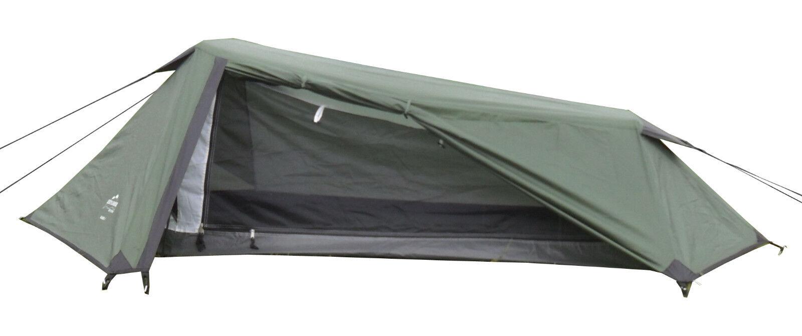 2 Personen Doppeldach Zelt Trekking Leichtzelt Namib 280x220x75cm 2100g WS=3000m