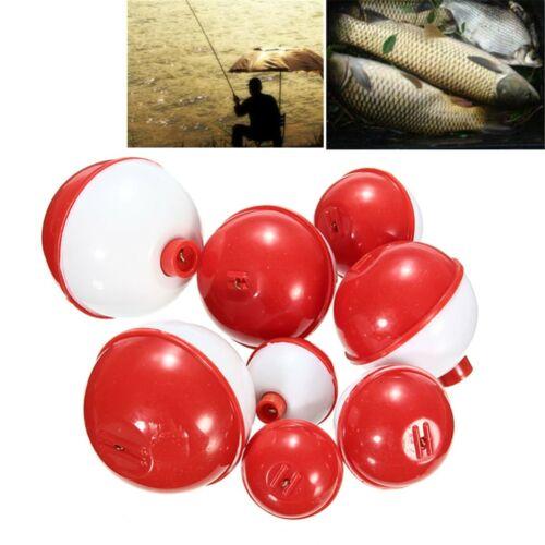 ZANLURE 8Pcs//lot Assorted Sizes Fishing Bobber Round Floats Combo Tackle