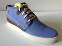 Men's Timberland Earthkeepers Adventure Cupsole Chukka Boots -light Blue -uk7-10