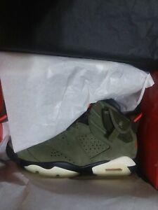 Travis Scott X Air Jordan 6 Size 10.5