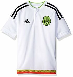db1778f75d8 $70 Adidas Soccer Youth Mexico jersey,Size: Large, White/black ...
