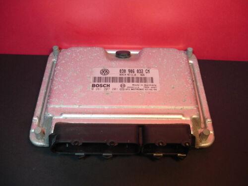 VW 1.4 PETROL ENGINE ECU 030906032CM 0261207201 030906032 CM