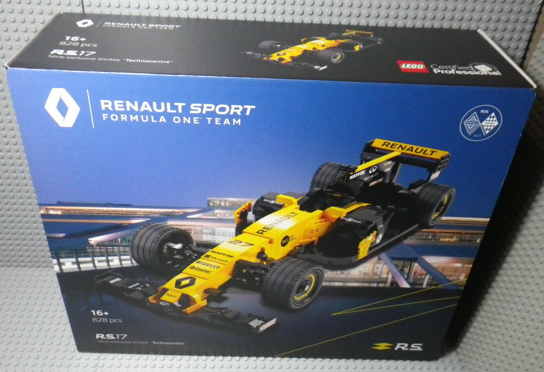 LEGO Certified Renault Sport Sport Sport Formula One RS 17 Exclusive Limitée Technocentre 9fa5b0