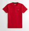 Hollister-homme-a-encolure-ras-du-cou-a-manches-courtes-Muscle-must-have-Courbe-Tee-Logo-T-Shirt miniature 32