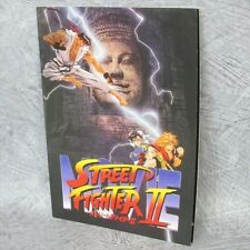 STREET FIGHTER II 2 Movie Art Material Brochure Booklet Book Ltd *