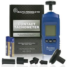 Bafx Products Handheld Digital Contact Tachometerwheel Meter For Reading Rpm