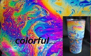 Dipping Hydrographics Film Water Transfer Printing coloful 50x200cm oil
