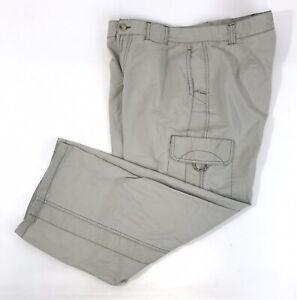 Columbia-Cargo-Capri-Hiking-Pants-Womens-Size-6-Cropped-Beige-Light-Khaki-EUC