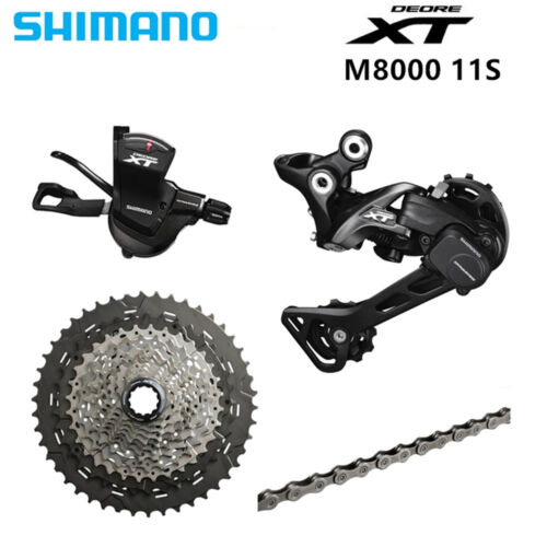 SHIMANO DEORE XT M8000 1x11 11S Speed 11-40T 11-42T 11-46T Groupset
