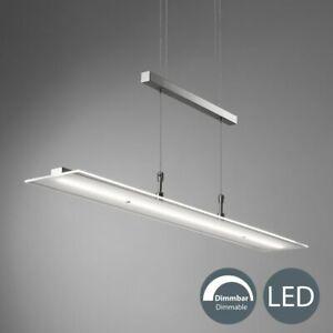 Details zu LED Deckenleuchte dimmbar Pendel Leuchte Küche Esszimmer Tisch Hänge Lampe Touch