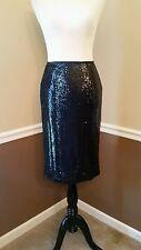 NWT Modcloth Black Sequin Pencil Skirt 8 Cocktail BB Dakota Mics Camera $69