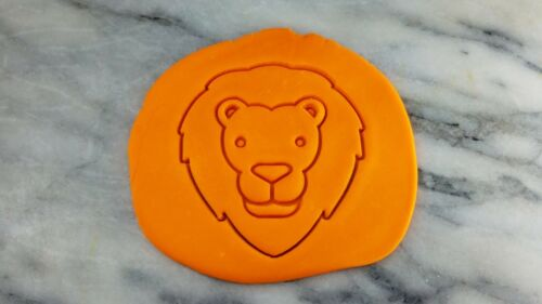 Lion Face Cookie Cutter 2-Piece Outline /& Stamp #2 Zoo Animal