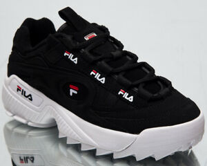 Details about Fila D-Formation Women Black Sneakers Chunky Casual Lifestyle  Shoes 5CM00512-014