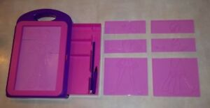 Melissa Doug Fashion Design Activity Kit 4312 Transfer Rub Color Pencil Case Ebay