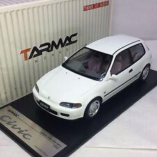 1/18 Tarmac Work Honda Civic EG6 SIR II 1993 White #T01-SIR-WH
