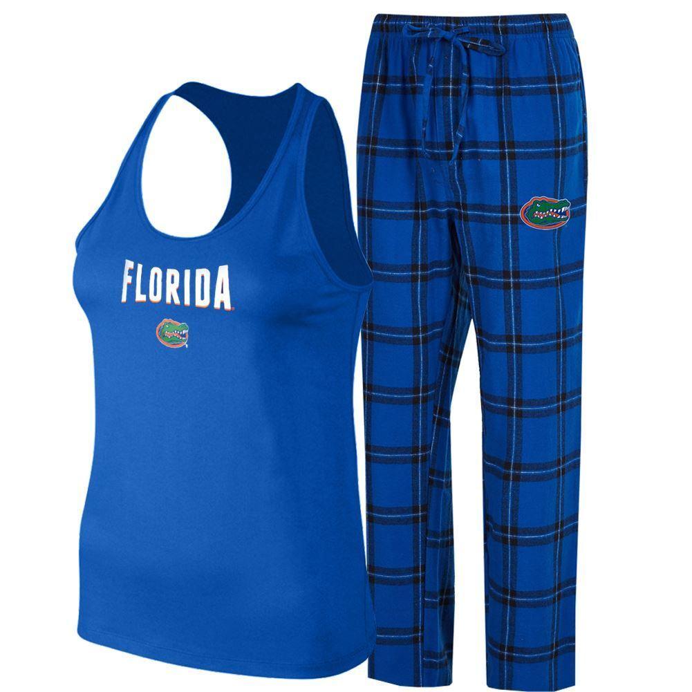 Florida Gators Women's Pajama Set Candid Shirt & Pants Sleepwear