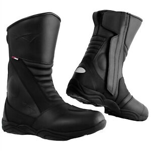 Motorcycle-Motorbike-Leather-Waterproof-Breathable-Boots-Touring-Sports