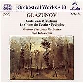 1 of 1 - Glazunov - Orchestral Works, Vol 10, Alexander Konstantinovich Glazun, Very Good
