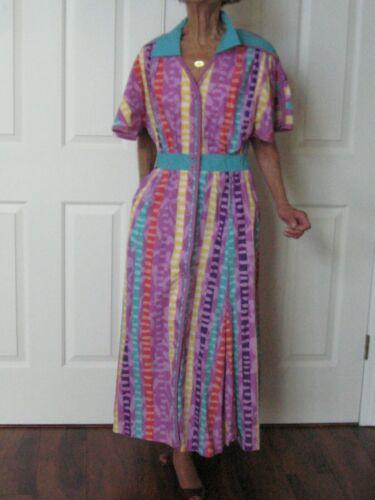 Vintage Jeanne Marc Dress Size Small